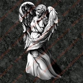 Ангел на памятник 1202