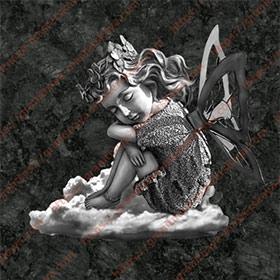 Ангел на памятник 1204
