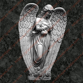 Ангел на памятник 1208