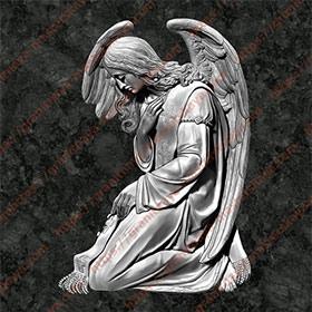 Ангел на памятник 1209