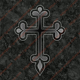 Крест на памятник 1306