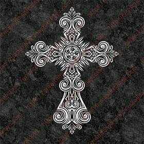 Крест на памятник 1308