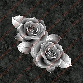 Цветы на памятник 1501