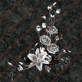 Цветы на памятник 1512