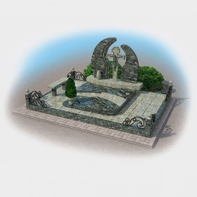Комплекс на могилу 5026