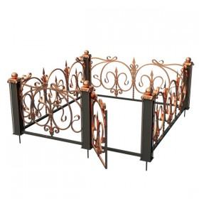 Кованная ограда 5819