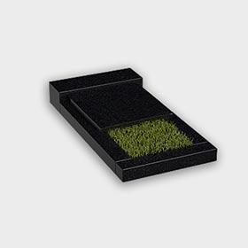 Цветник на могилу 6013