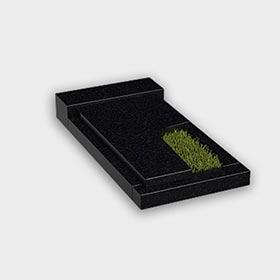 Цветник на могилу 6021